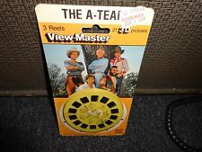 The A-Team mr T  1983 sealed  View Master Pack Reels  MOC