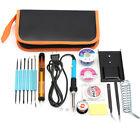 110V/220V 60W Kit Soldador Eléctrico Temperatura Ajustable De Hierro Soldadura