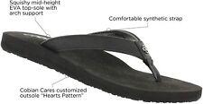 Women Cobian Skinny Bounce Flip Flop Sandal SKB16 Color Black 100% Original New