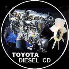 TOYOTA DIESEL ENGINE REPAIR MANUAL 2L 3L 2H 2B 12HT 1HD 1HZ 1PZ 1KZ 1VD FTV CD