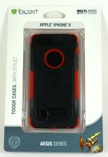 AG-IPH5-RED Trident iPhone 5 Aegis Case (Black/Red) New Retail
