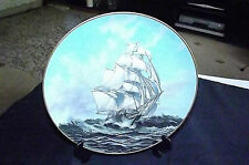 VINTAGE THE GREAT CLIPPER SHIPS COLLECTORS PLATE 'THERMOPYLAE' 'L. PEARCE C1981