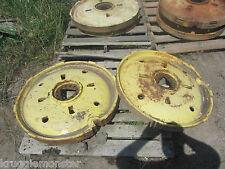 JOHN DEERE VERY LATE STYLED A REAR WHEEL WHEELS CASTING FOR 1950 51 52 MODELS