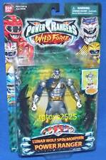 "Power Rangers Wild Force Spin-Morphin Lunar Wolf 5"" Power Ranger NEW Sealed 2002"