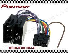 C01 - Connettore adattatore ISO autoradio PIONEER DEH-P88RS - DEH-600BT 16 pin