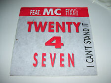 "Twenty 4 Seven - I Can't Stand it 7"" vinyl Holland 1989"