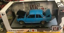 1/24 M2 Machines 1970 510 DATSUN  Walmart Exclusive America only 4180 Blue