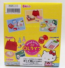 Minitures Sanrio Hello Kitty OL Life Box Set - Re-ment   ,  h#21ok