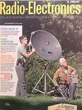 Radio-Electronics Magazine Closed-Circuit TV February 1962 102417nonrh