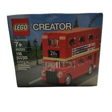 LEGO 40220 New Sealed Creator Double Decker London Bus EXCLUSIVE