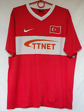 Turkey Turkish Nike Football Shirt Jersey Trikot size L 2008/2009