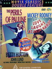 THE PERILS OF PAULINE new dble dvd LOVE LAUGHS AT ANDY HARDY Mickey Rooney