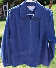 Women's Blue Shirt by Lilly of California; Size: XL