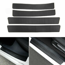 For Honda Civic 16+Outer Door Entry Protector Sill Scuff Plate Trim Leather Film