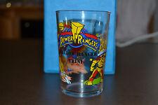 verre moutarde Power Rangers