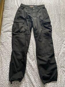 5.11 Tactical TDU Ripstop Black Combat Trousers Size M Medium Length Regular