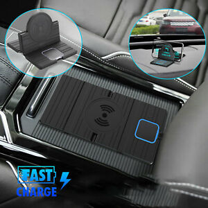 QI Wireless Car Phone Charger Charging Pad Mat for iPhone Samsung Universal
