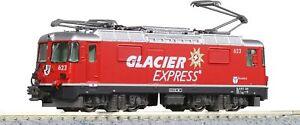 KATO N Gauge Alps Alpine Locomotive Ge4/4-II Glacier Express N Scale 3102-2 JP