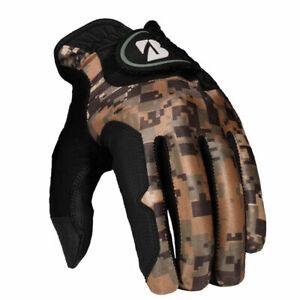 NEW Bridgestone Fit Golf Gloves Camo Size S/M Regular - Pick Hand & Quantity!!