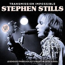 Transmission Impossible [Digipak] by Stephen Stills (CD, Mar-2017, 3 Discs, Eat to the Beat)