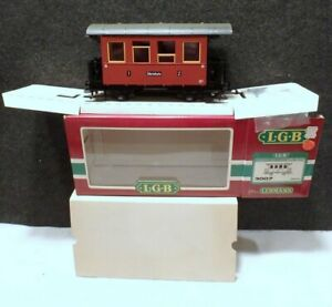 MINT IN BOX NEW NEVER USED GERMANY LGB LEHMANN G-Scale Zillertalbahn 1/2 3007