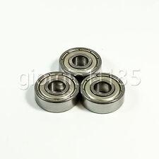 Us Stock 10pcs 606zz Miniature Deep Groove Shielded Ball Bearings 6 X 17 X 6mm