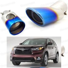 NEW Inlet T304 Stainless Steel Exhaust Muffler Tip For Toyota Highlander 2007 AA