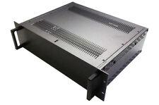 "Full Aluminum DIY multipurpose box electronic enclosure Rack mount 19"" 3U-D2"