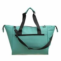 Large Insulated Grocery Bag Shopping Tote with Removable Lining Leakproof Teal C