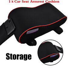 1Pcs Car Storage Bag Memory Foam Autos Center Console Seat Armrest Protector Pad