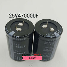 For 4pcs 25v 47000uf 35x50 Aluminum Electrolytic Capacitor