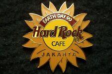 HRC hard rock cafe Jakarta Earth Day 1999 sun Logo le500