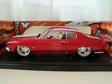 HOT WHEELS - TEAM BAURTWELL WHIPS - (1970) '70 CHEVY CHEVELLE SS - 1/18 DIECAST