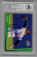 John Smoltz signed autographed 1993 Select card! RARE! Beckett BAS Authenticated