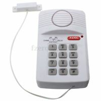 Wireless Home Security Burglar Alarm Garage Shed Caravan with Keypad Door Window