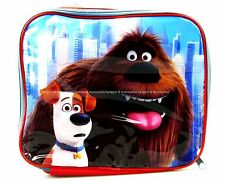 THE SECRET LIFE OF PETS THERMAL INSULATED LUNCH BAG BOX KIDS PICNIC SCHOOL