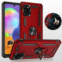 For Samsung Galaxy A21s A21 A31 A51 A71 5G Shockproof Stand Hard Case Ring Cover