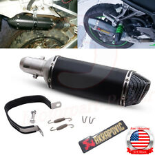 Universal Motorcycle Exhaust Muffler Silencer Pipe Slip On W/DB Killer 38mm-51mm