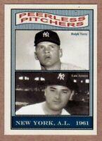 RALPH TERRY & ARROYO PEERLESS PITCHERS /'61 YANKEES 50TH ANNIVERSARY #6