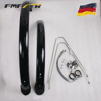 FMFXTR 1 Paar Fahrrad Kunststoff Kotflügel Set MTB / Road / Faltrad Schutzbleche