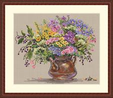 Merejka Cross Stitch  Kit K-16 Wild Flowers