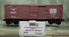 39150 Micro Trains N Scale 40' Sheathed Wood, SD Boxcar CENTRAL GEORGIA 40247