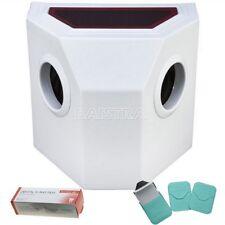 Portable Dental X-Ray Film Processor Developer Manual Washing +100pcs X-Ray Film