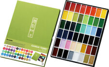 Kuretake Zig Gansai Tambi Japanese Large Pan Watercolour Paint Set (48 Colours)