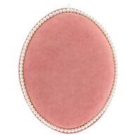 Ovale Samt Ohrringe Schmuck Einzelhandel Displayhalter Stand Organizer Rack Pink