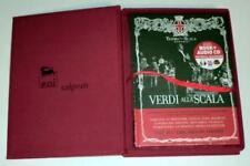 Verdi alla Scala, Vol. 1 Includes Book (CD, Feb-2013, La Scala) NEW! SEALED!