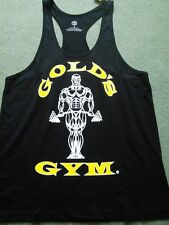Golds Gym String Vest size L