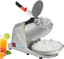 Electric Ice Crushers Shaved Ice Maker Portable Snow Cone Machine For Kitchen