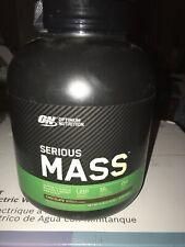 Optimum Nutrition Serious Mass Weight Gainer Protein Powder, Vitamin C, Zinc an