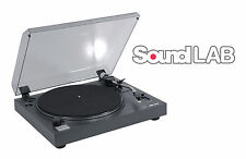 SoundLAB Professional USB Pitch Controlled Turntable Audacity Software Vinyl